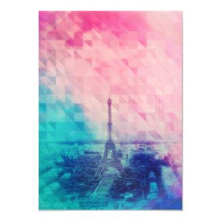París en la medianoche invitación 11,4 x 15,8 cm