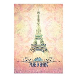 París en primavera invitaciones personales