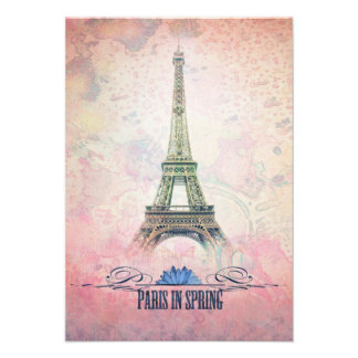 París en primavera comunicados personalizados