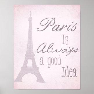 París es siempre una buena idea impresiones