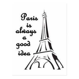 París es siempre una buena postal de la idea