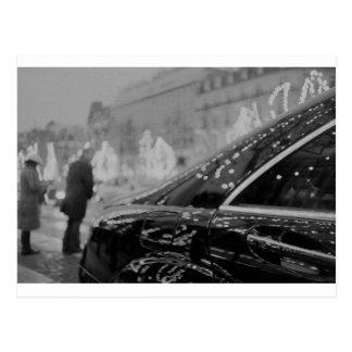 Paris France Champs Elysees Lomo LCA lomographic a Postal