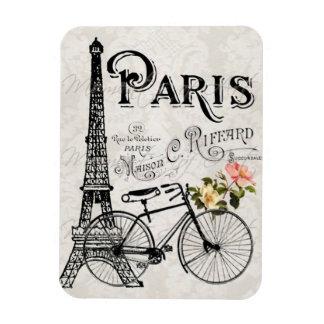 París, Francia - imán del vintage