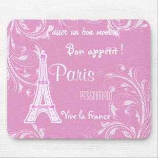 París Francia Mousepads Alfombrilla De Ratón