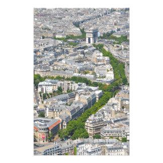 París, Francia Papelería Personalizada