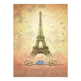 París Invitación 16,5 X 22,2 Cm