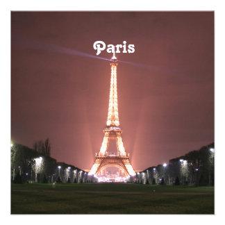 París Invitacion Personal