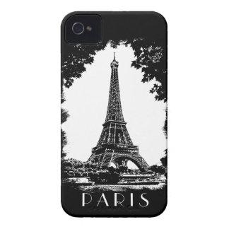 París, la torre Eiffel - caja de la casamata Case-Mate iPhone 4 Carcasa