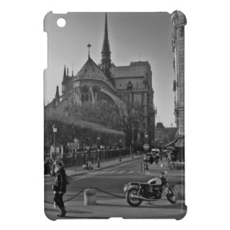 París negra y blanca Notre Dame