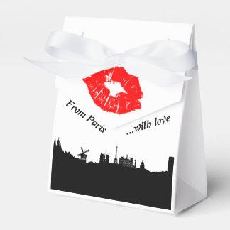 París Party Favor gift caja