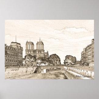 París por el poster del Sena