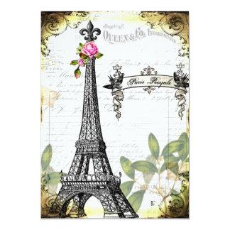 París RoYaLe Invitación 12,7 X 17,8 Cm
