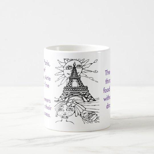 París - taza de la ciudad