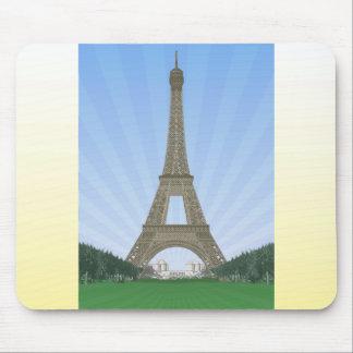 París: Torre Eiffel: Dibujo del vector: Alfombrilla De Ratón