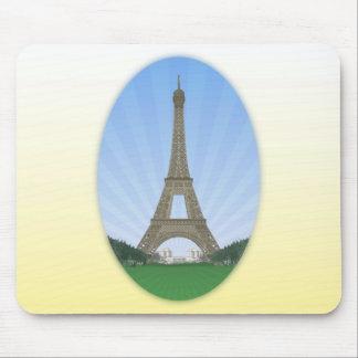 París: Torre Eiffel: Dibujo del vector: Tapetes De Raton