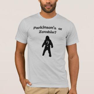 ¿Parkinson o zombi? Camiseta