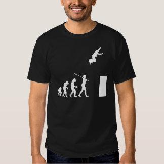Parkourist Camisetas