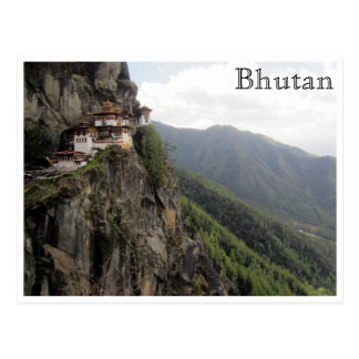 paro Bhután del taktsang Postal