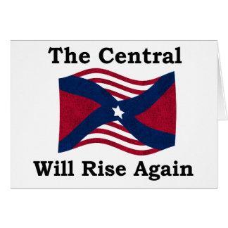 Parodia de la guerra civil tarjeta de felicitación
