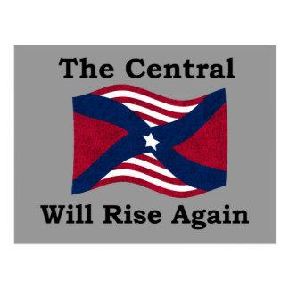 Parodia de la guerra civil postales