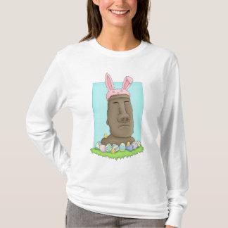Parodia del conejito de la isla de pascua camiseta