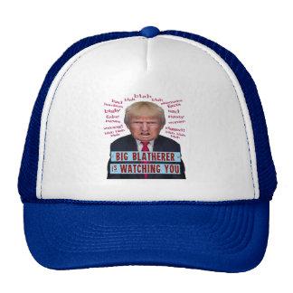 Parodia política de presidente Donald Trump 1984 Gorros Bordados