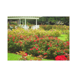 Parque color de rosa Los Ángeles de la jardín-Expo Impresiones De Lienzo