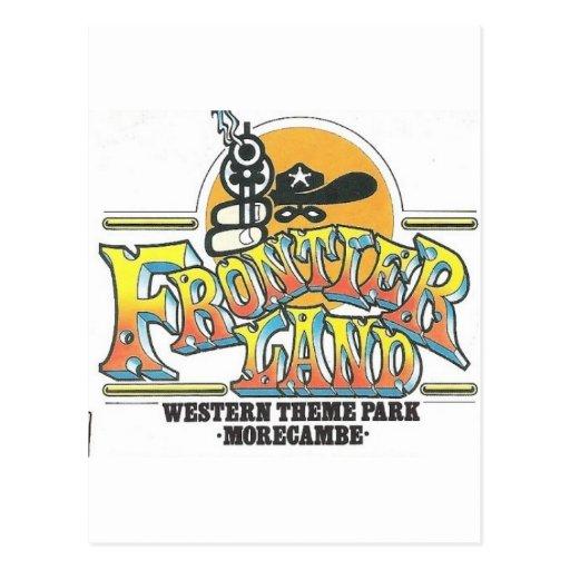 Parque de atracciones de Frontierland Morecambe In Postales