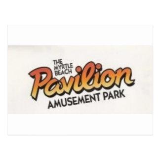Parque de atracciones de Myrtle Beach Pavillion Postal