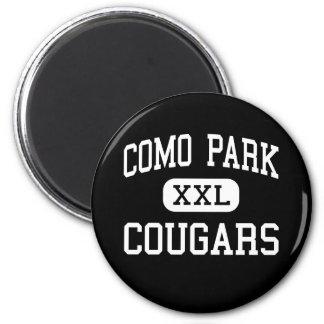 Parque de Como - pumas - alto - Saint Paul Minneso Imanes Para Frigoríficos