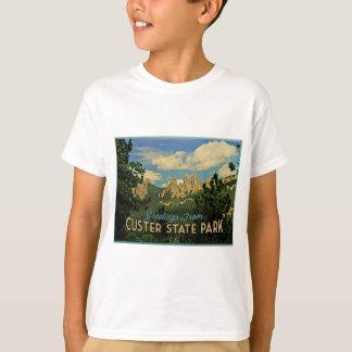 Parque de estado de Custer Camiseta