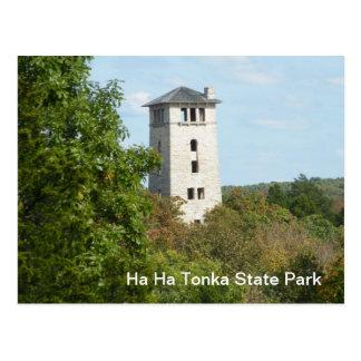 Parque de estado de la ha ha Tonka Postal