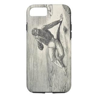 Parque de la lana de borra (1771-1806) alentador funda iPhone 7
