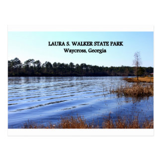 PARQUE de LAURA S. WALKER STATE - Waycross, Postal