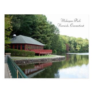 Parque de Mohegan, Norwich, CT - postal