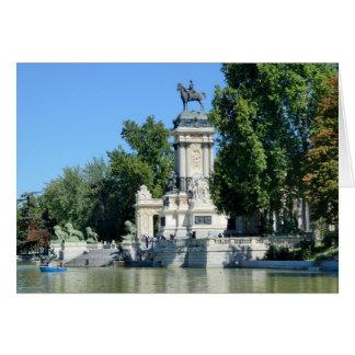 Parque de Retiro, Madrid, España Tarjetas