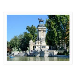 Parque de Retiro Madrid España Tarjetas Postales