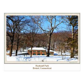 Parque de Rockwell, postal de Bristol CT