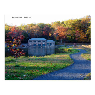 Parque de Rockwell - postal del otoño de Bristol