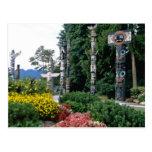 Parque de Stanley rosado, flores de Vancouver Postal