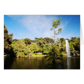Parque del Buen Retiro Tarjeta De Felicitación
