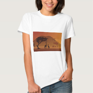 Parque del safari camisetas
