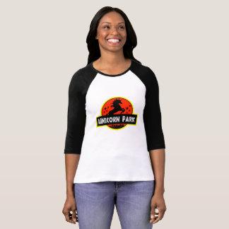 Parque del unicornio camiseta