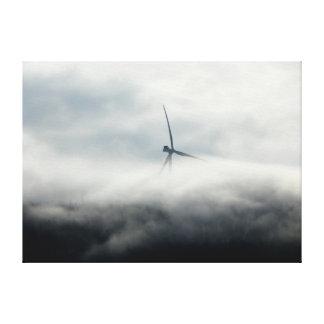Parque eólico de Lowell Impresión En Lienzo Estirada