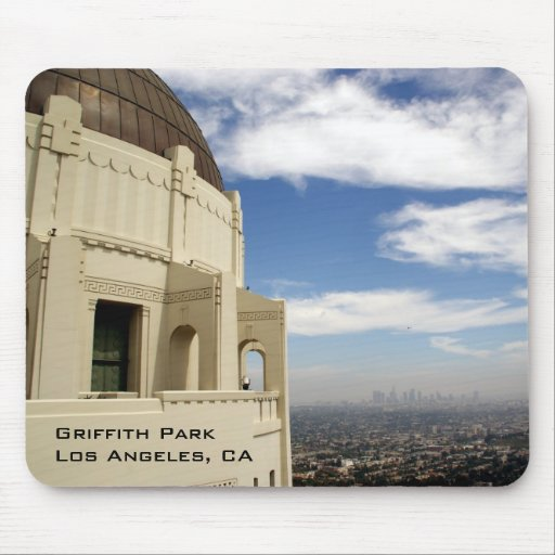 Parque Griffith Mousepad Tapetes De Ratón