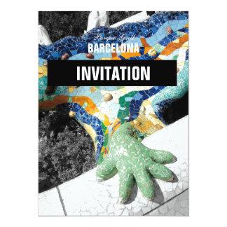 Parque Guell de Barcelona Gaudi Invitación 13,9 X 19,0 Cm