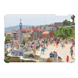 Parque Guell en Barcelona, España