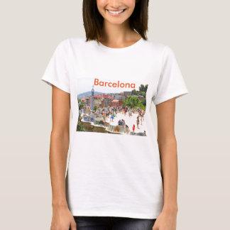 Parque Guell en Barcelona, España Camiseta