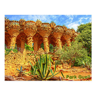 Parque Guell Postal