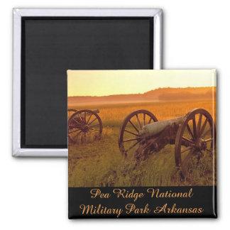 Parque militar nacional Arkansas de Ridge del Imanes